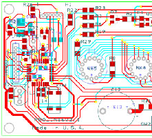 CAD circuit card