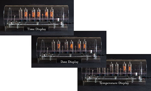 Nixie Clock #3 Mini combo view