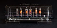 Nixie Clock Mini front view 1
